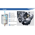 SGS Lieferant Autoteile Aluminium Kraftstofffilter Gehäuse