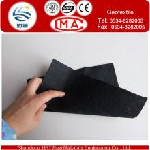 Schwarze Farbe 1200G / M2 Polypropylen oder Polyester Geotextil, Cusomized Farbe
