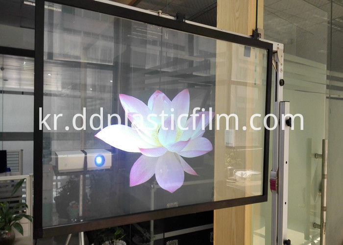 adhesive Holographic rear projection screen film (18)