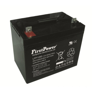Batería de energía de reserva Deep Cycle Battery 12V60AH