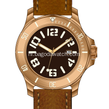 CNC Bronze horloges voor heren
