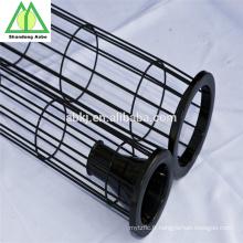 Cage de sac de filtre de collecteur de poussière enduit par silicium organique adapté aux besoins du client
