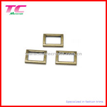 High Quality Antique Brass Metal Square Buckle for Bag