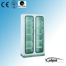 Cabinet d'instruments médicaux pour hôpitaux 2 portes (U-1)
