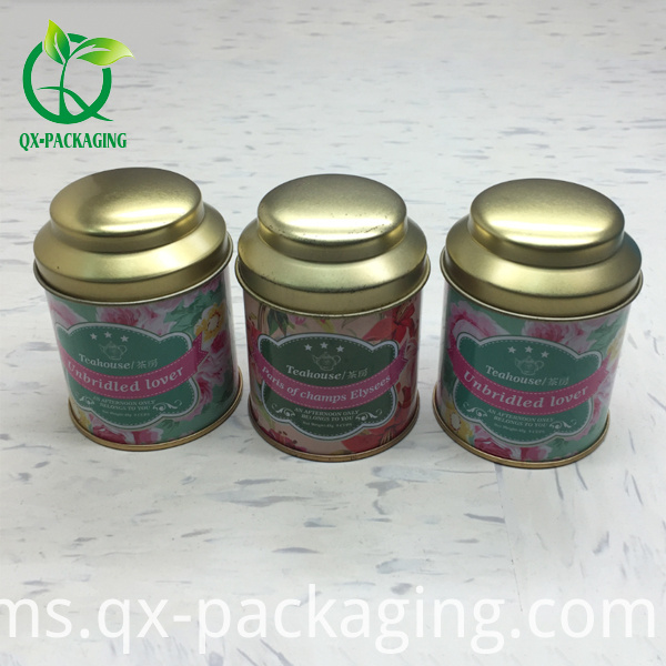 Small Round Tin Boxes
