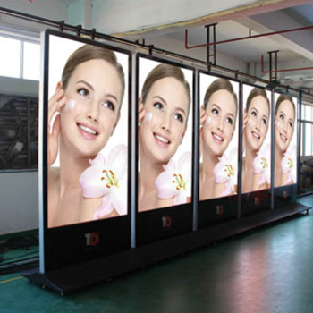 P4 Floor Stand Led Advertising Machine Sign