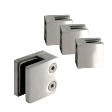 Stainless Steel 304 Square Glass Clamp
