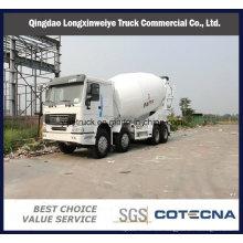 Camión cisterna mezclador a granel y cemento HOWO 8X4 5-16cbm