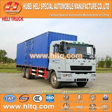 CAMC 6x4 20000kg van truck 270hp Weichai power