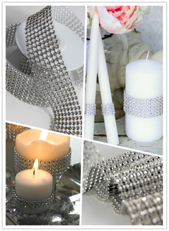 mesh ribbon home decor