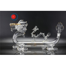 Wuliangye Double Dragon Glass Bottle
