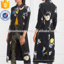 Impreso CorduroyJacket Manufacture Wholesale Fashion Women Apparel (TA3004C)
