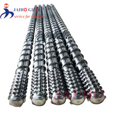 corrugated pipe extruder screw and barrel