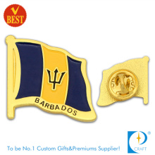 Barbados Flag Pin Badge with High Quality for Souvenir