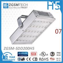 200W luz de túnel LED de Philips Lumileds 3030 5 años de garantía