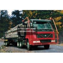 HOWO Sitaier-König Log Carrier