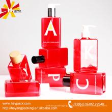 Bela várias garrafas de plástico PET garrafas de cosméticos