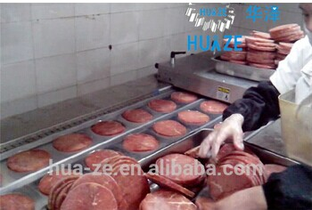 Beef steak automatic thermoforming vacuum packaging machine