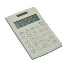 Dual Power 8 dígitos Soft Key Handheld Calculator