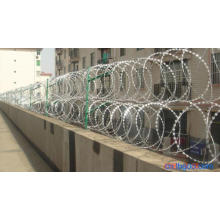 Hot Dipped Galvanized High Security Razor Wire Fencing (anjia-534)