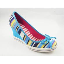 2016 zapatos de vestir de las señoras Chuncky del alto talón de la manera (HCY03-137)