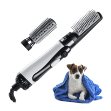 Pet Hair Dryer with Slicker Brush