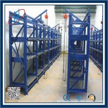 Rack de armazenamento de moldes e gaveta para uso de máquina