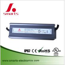 Fonte de alimentação dimmable 120w do triac de 12vDC 24vDC para luzes do diodo emissor de luz