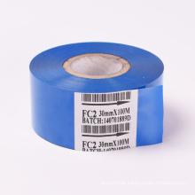 35*122 hot foil label printing machine used transfer foil ribbon, thermal transfer ribbon