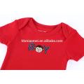 New stock baby toddler boy summer playsuit onesie red blue black color romper bodysuit