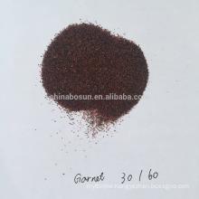 Almandine 30/60 mesh garnet for blasting