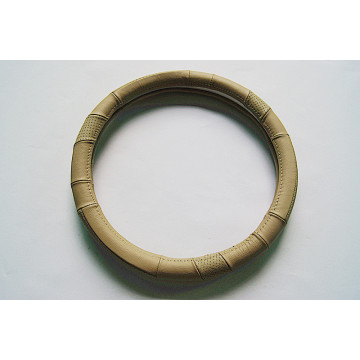 Cheap for Genuine Leather Steering Wheel Cover Natural animal leather steering wheel cover supply to Spain Supplier