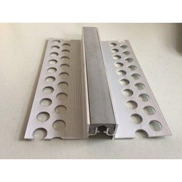 Joint de contrôle en aluminium dans les matériaux de construction