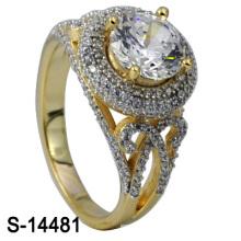 2016 Новый дизайн стерлингового серебра 925 пробы с кольцом из циркония (S-14481)