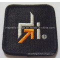 Black Twill Embroidered Patch (Hz 1001 P065)