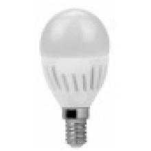 Vela de LED cerámica G45 de lámparas E14 7W de 2835SMD 600lm AC100 ~ 265V