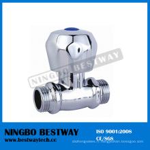 Soupape d'arrêt d'angle en laiton de vente chaude (BW-S18)