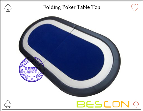 Folding Poker Table Top