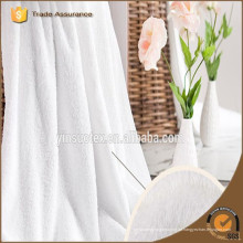 2016 70 * 140cm China weißer Farbenlieferant 100% Baumwollbad-Hoteltuch eingestellt
