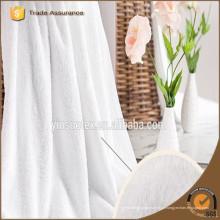 2016 70 * 140cm China fornecedor de cor branca 100% algodão banho hotel toalha conjunto