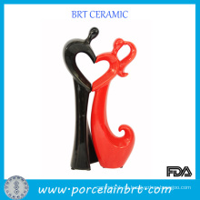 Kreative schwarze und rote Hochzeitstag Geschenke