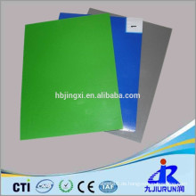 Zweischichtige grüne und schwarze ESD-Gummimatte