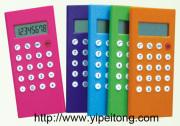 Calculadora manipulada colorida