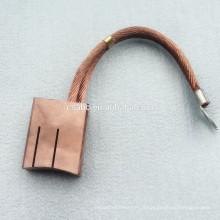 escovas de cobre para motores de corrente contínua