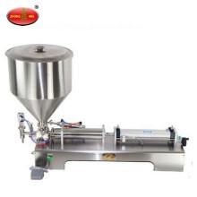 Máquina de llenado de líquidos semiautomática para llenado de líquido / relleno de pasta
