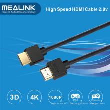 Cable HDMI delgado de 4k