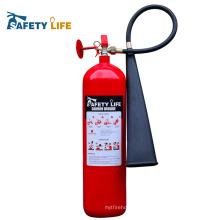 feu et système de sécurité CO2 2KG / CE 2kg co2 fireextinguisher
