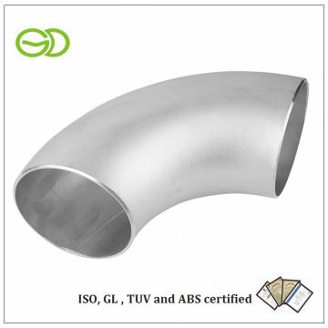 Conector de tubo de codo de soldadura ASTM 403 Asme B16.9