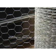 Malha de arame hexagonal / galinha (galvanizada)