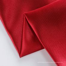 Tecido de seda multicolor brilhante trançado de cetim